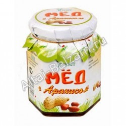 Мед алтайский с арахисом, 210 гр