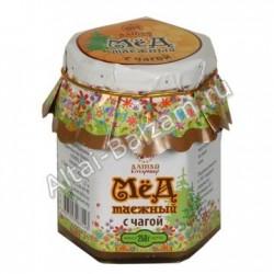 Мед таежный с чагой, 0.25 кг
