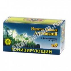 """Напиток чайный в фильтропакетах """"Алтайский"""" N9 - """"Тонизирующий"""""""