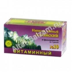 """Напиток чайный в фильтропакетах """"Алтайский"""" N10 - """"Витаминный"""""""