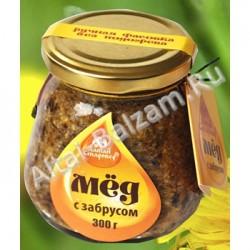 Мед натуральный с забрусом, 300 гр.