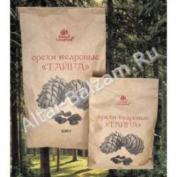 """Орехи кедровые """"Тайга"""", 250 гр."""