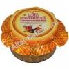 Мед натуральный с курагой, черносливом и грецким орехом, 250 гр