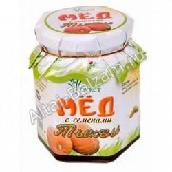 Мед алтайский с семенами тыквы, 210 гр